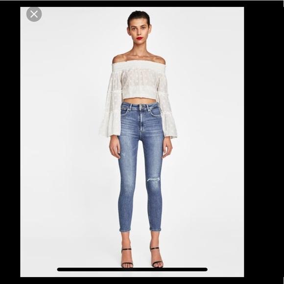 c85aa197 Zara Jeans   80s High Waist Denim   Poshmark